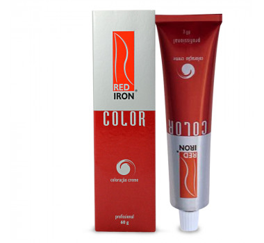 RED IRON PROFESSIONAL COLOR 60GR - 7.7-LOURO MARROM