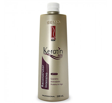 RED IRON PROFESSIONAL KERATIN SOS RECONSTRUTOR INTENSIVO 500ML